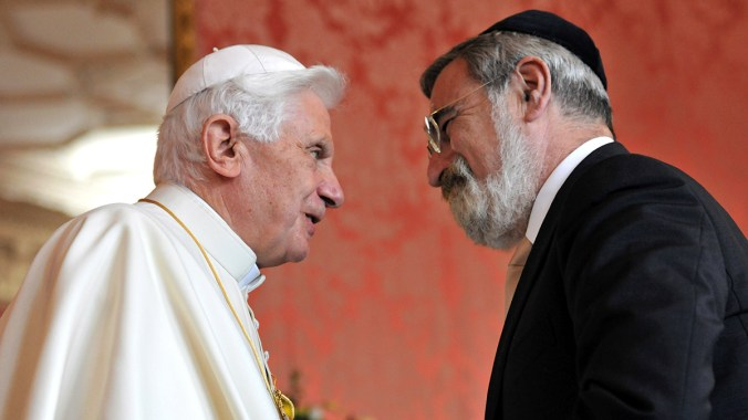 Chief Rabbi Lord Sacks' Address to Pope Benedict
