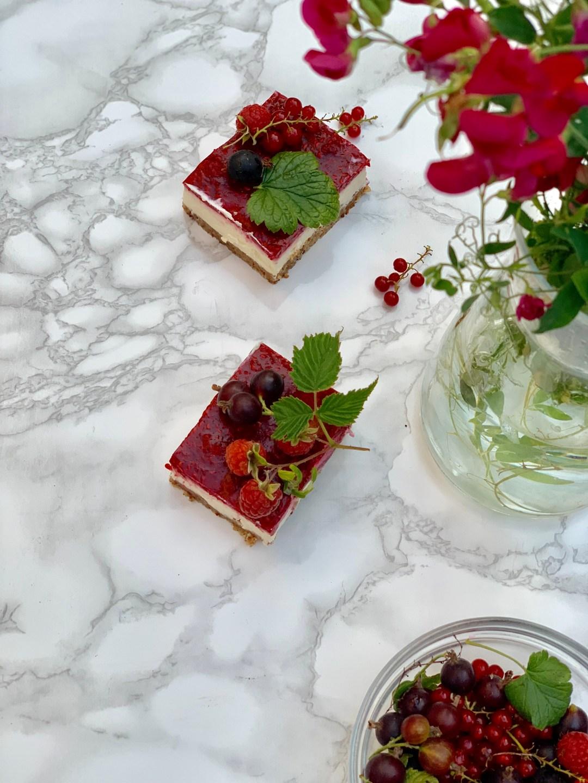 No bake raspberry cheesecake keto recipe