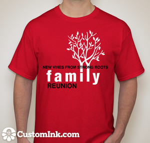 FAMILY REUNION T SHIRTS ARE IN Family On The Fourth