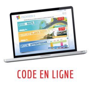 Code en ligne – VOITURE – 3 mois