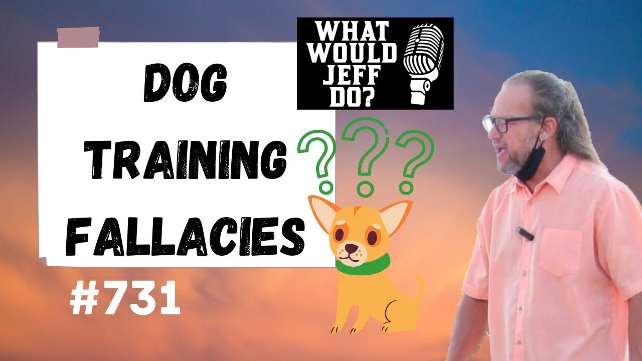 Dog Training Fallacies WWJD 2020 - Dog Training Fallacies - WWJD (2020)