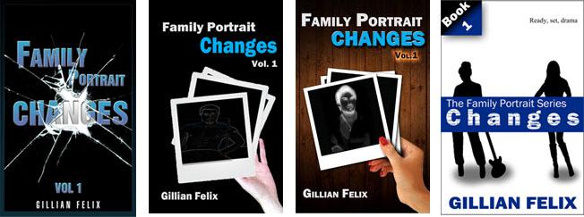 Changes Family Portrait covers