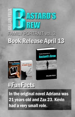 Family Portrait series fun fact 2