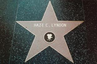 Haze Lyndon Walk of Fame