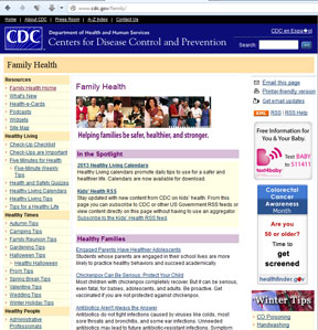 CDC.gov - Center for Disease Control and Prevention