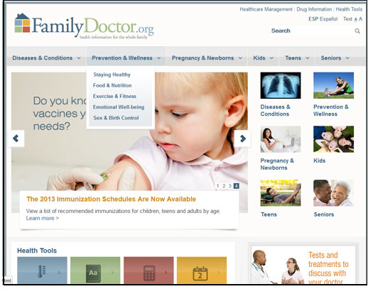Family Doctor.org - American Academy of Family Physicians