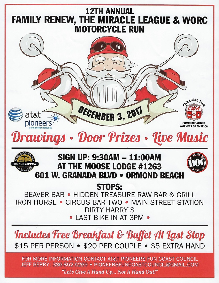 Moose Lodge Ormond Beach : moose, lodge, ormond, beach, Annual, Motorcycle