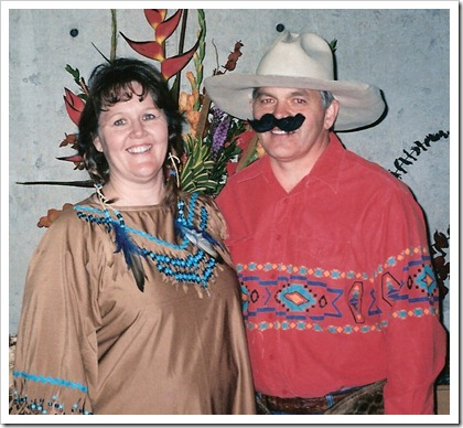 Aunt Mo and Uncle Steve at the Western Family Reunion
