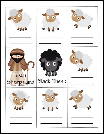 Black sheep printable