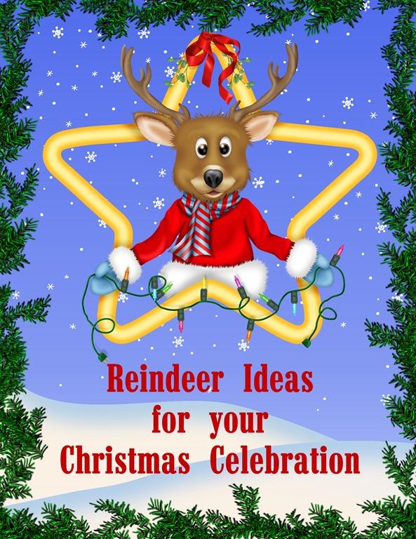 Reindeer Noses Printable Poem Family Reunion Helper