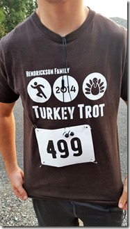 turkey shirt front