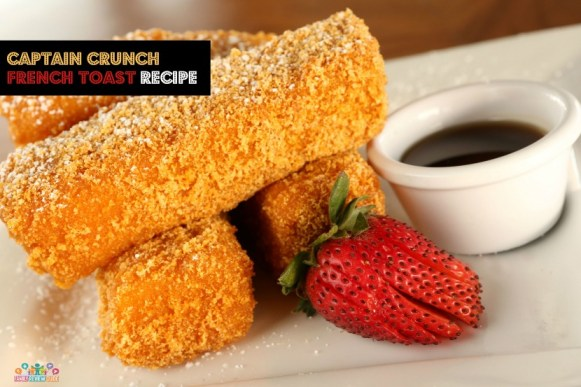 breakfast captain crunch french toast
