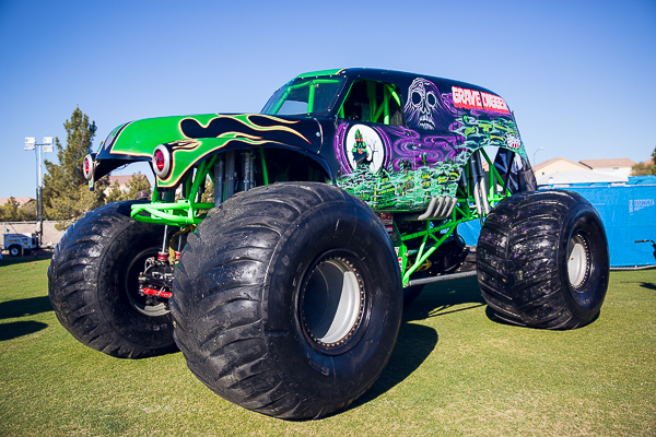 monster jam grave digger wish