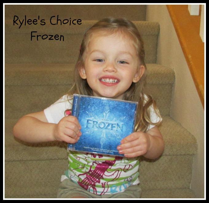 Disney CDs Rylee