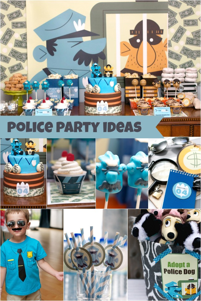 Police Birthday Party for 4 Year Old Boy Family Review Guide