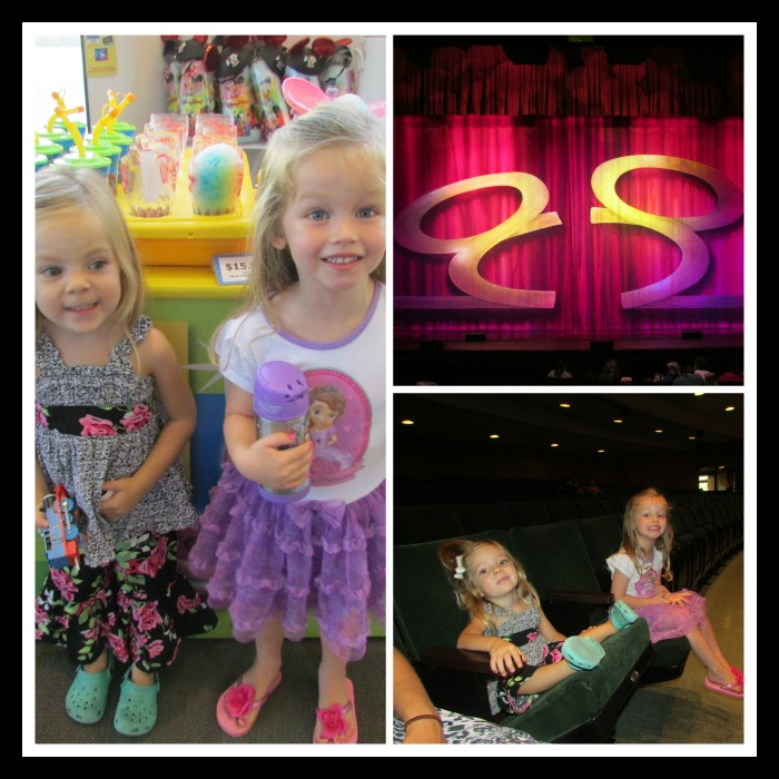Disney Live before the show
