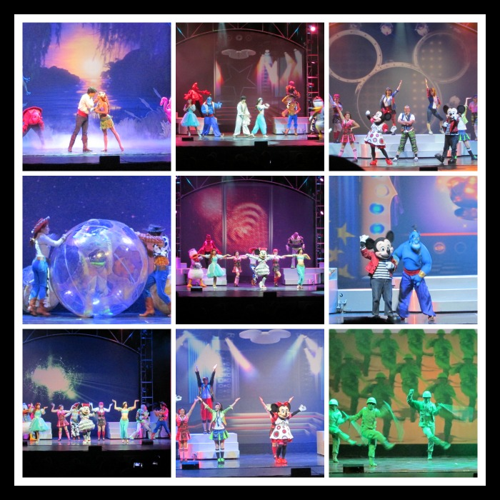 Disney Live during the show