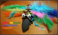 Pinecone Parrot Craft