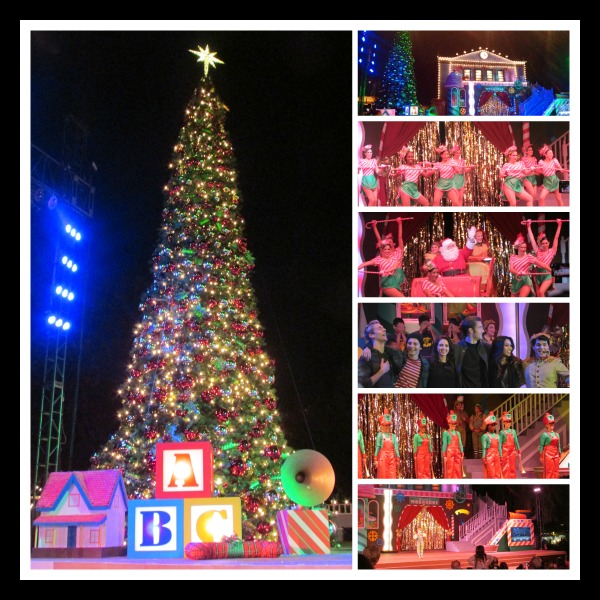 Knotts Merry Farm Christmas Tree Lighting
