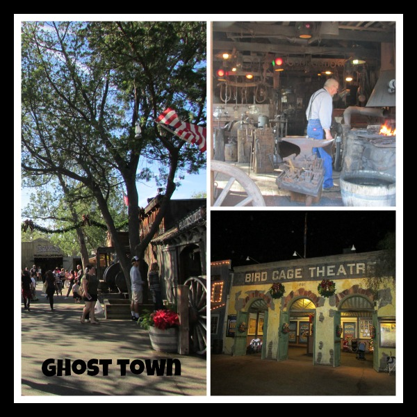 Knotts Merry Farm Ghost Town