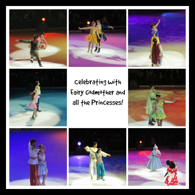 Celebration Disney with the princesses