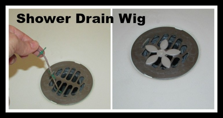 Drain Wig for the shower