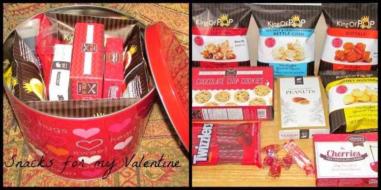 Gourmet Gift Baskets Snacks for my Valentine