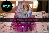 Ideas for a #DisneySide Princess Party