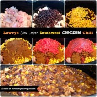 Lawry's Slow Cooker Southwest Chicken Chili