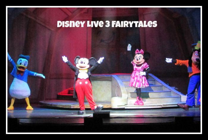 Disney Live 3 Fairytales