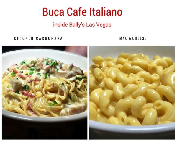 Buca Cafe Italiano Pasta