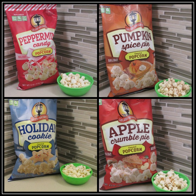 Gaslamp Popcorn Co Holiday Flavors individuals