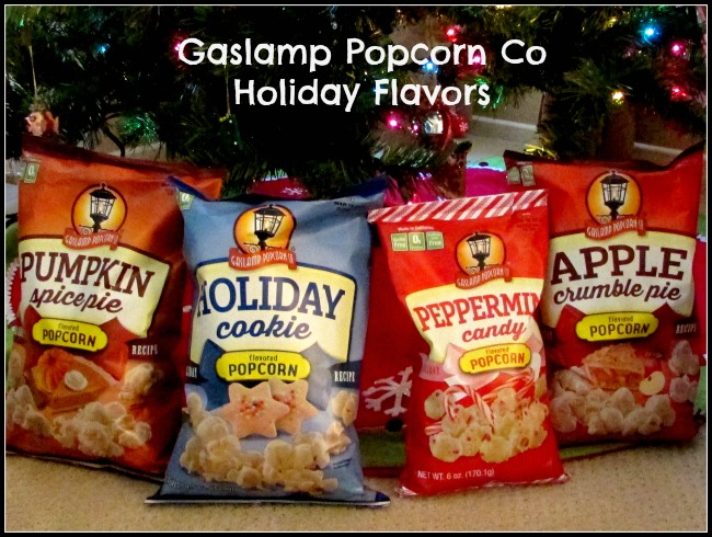 Gaslamp Popcorn Co Holiday Flavors