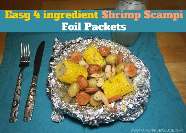 Shrimp Scampi Foil Packets