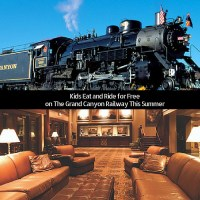 Kids Eat and Ride For Free On The Grand Canyon Railway