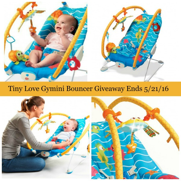 tiny love bouncer chair office upholstery repair gymini review family guide giveaway