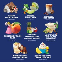 New Nintendo Inspired Flavors At Yogurtland