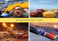 Disney Pixar's Cars3 Activity Pack