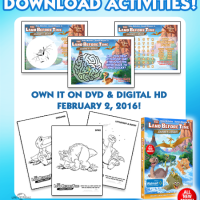 Activity Sheets : Land Before Time: Journey of the Brave