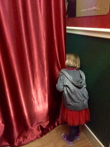 peeking in on the elves