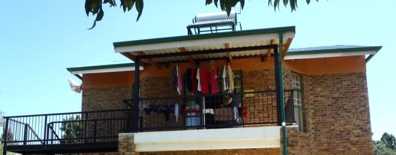Unser Haus für die ersten sechs Monate in Afrika.
