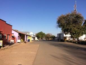 Die Hauptstrasse in Kabwe