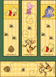 bookmarks pooh winnie disney printable friends paper printables eeyore bookmark familyshoppingbag reading para background ursinho template amigos these crafts libros