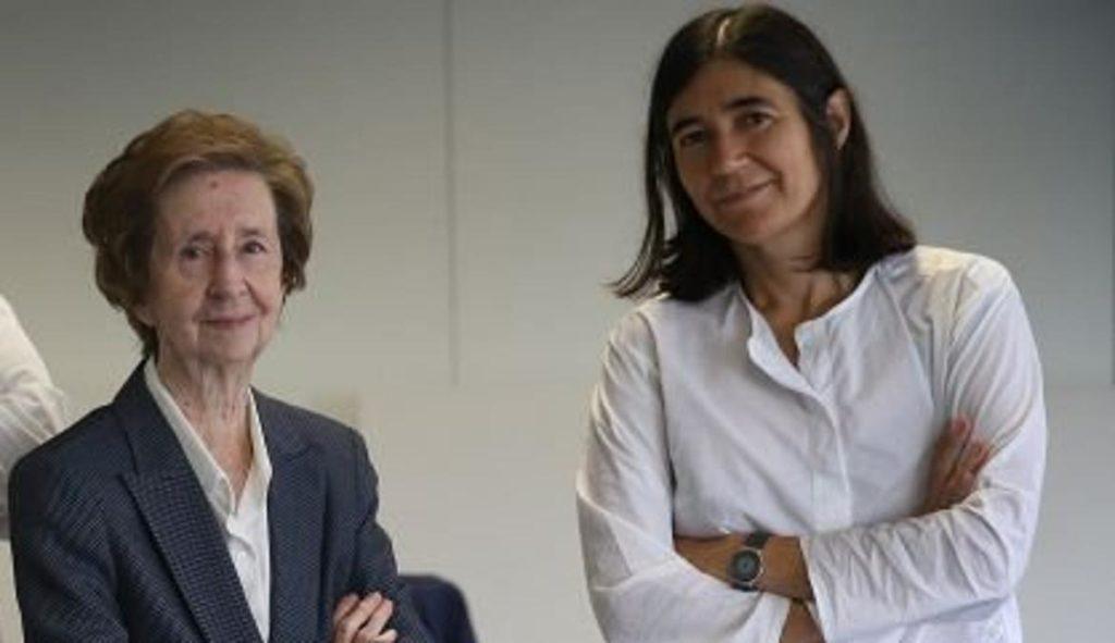 Margarita Salas y Maria Blasco