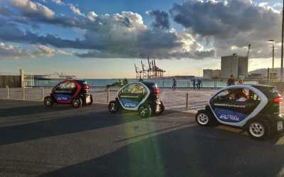 Descubre Málaga a bordo de un Renault Twizy