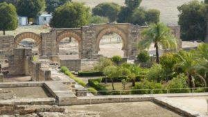 Medina Azahara en Córdoba terrazas