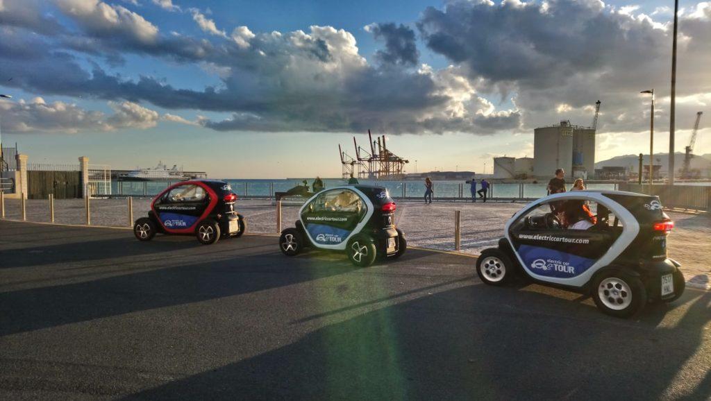 Rutas en coche eléctrico por Málaga, Muelle Uno