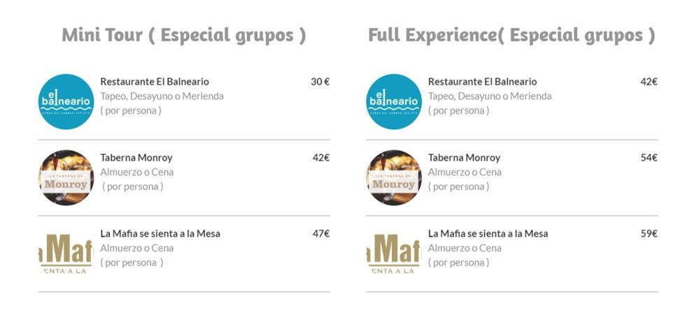 Rutas en coche eléctrico por Málaga, precios para grupos