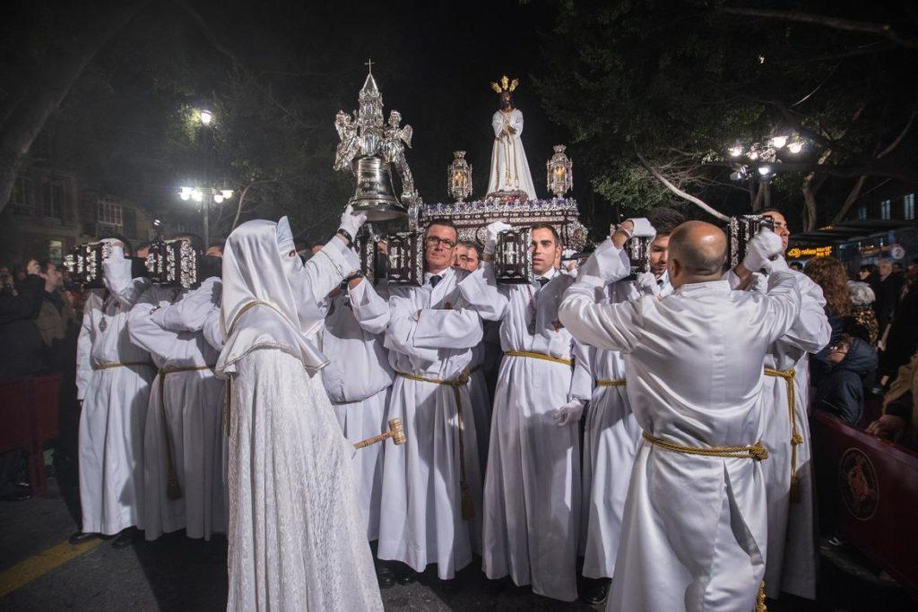 Trono del Cautivo en la Semana Santa de Málaga