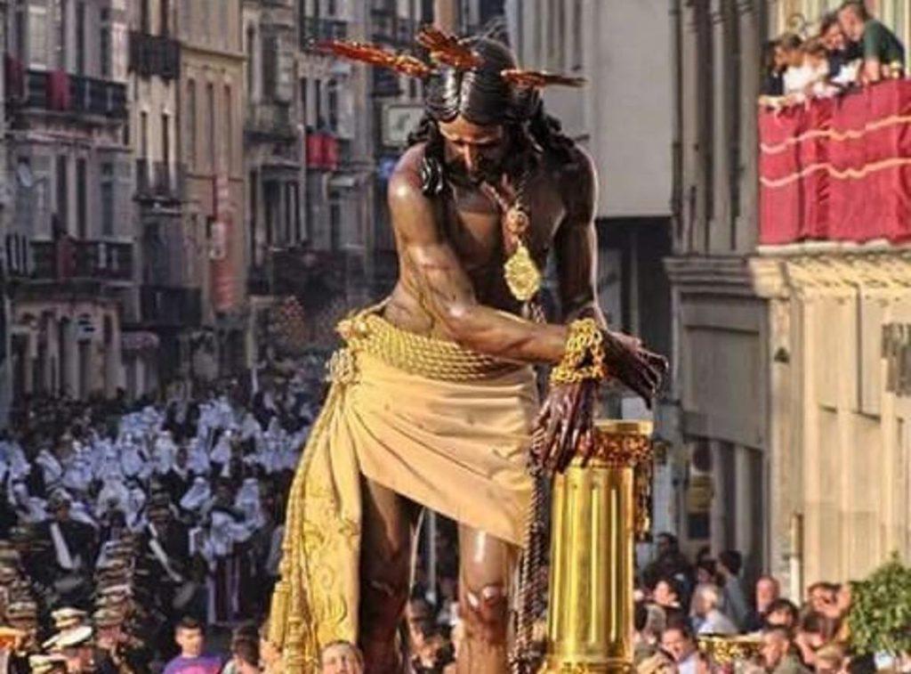 Cristo de los Gitanos en la Semana Santa de Málaga